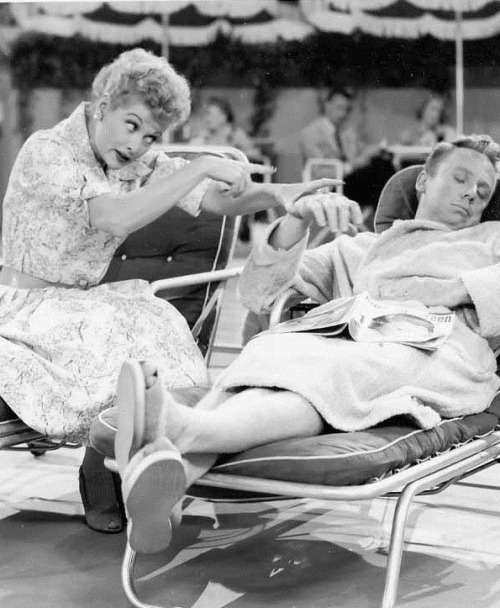 ilovelucyball:  Lucille Ball & Van Johnson on I Love Lucy  Season 4 Episode 28- The Dancing Star
