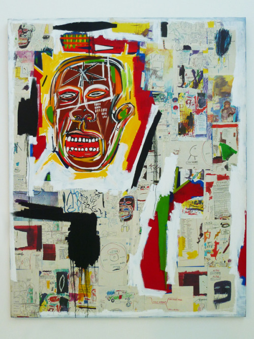 asbhsutton:  Beautiful Jean-Michel Basquiat painting at the Musée d'Art Contemporain in Marseille.