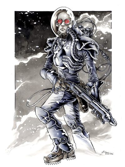 Mr. Freeze - by Daniel Govar