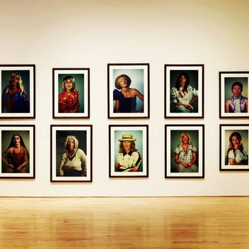 sfmoma:  wiblog:  The end is near. #cindysherman @sfmoma closes this weekend. (Taken with Instagram)  This weekend is your absolute final last chance to see Cindy Sherman's retrospective at SFMOMA.