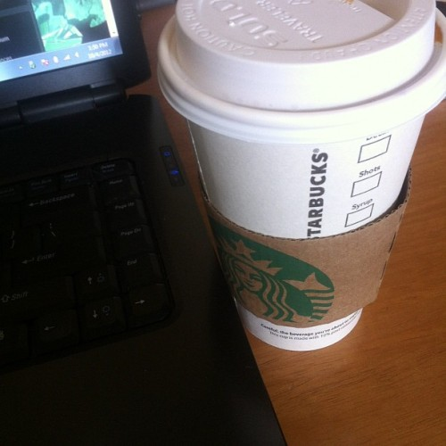 Planning over a pumpkin spice latte (Taken with Instagram)