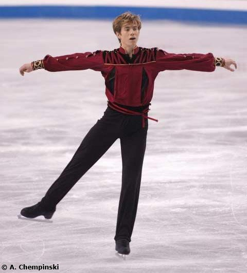 Jeffrey Buttle skating his Samson and Delilah long program at the 2006 World Championships.
