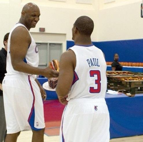Lamar Odom, the Clippers 6th, 7th and 8th man this year.  @Suga_Shane
