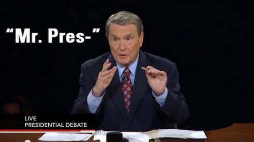 theamericanprospect:  Jim Lehrer is basically the Marcel the Shell of debate moderators.