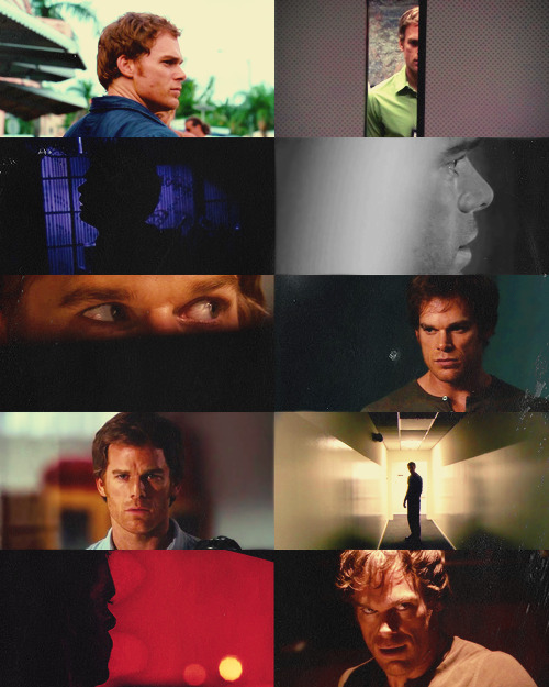 "ladyarlawyn:   [★] 2/10 Male Characters: Dexter Morgan  ""It's there always, this Dark Passenger. He's all I've got. Or is that just a lie the Dark Passenger tells me? Because lately there are these moments when I feel connected to something else… someone. It's like the mask is slipping and things… people… who never mattered before are suddenly starting to matter. It scares the hell out of me."""