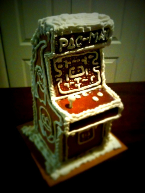 Gingerbread Arcade 3 by zero-lives on Flickr.
