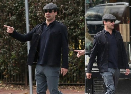 Jon Hamm's pet snake took its owner out for a walk again.  It's all part of today's hilarious Eff Marry Kill episode. Watch it.