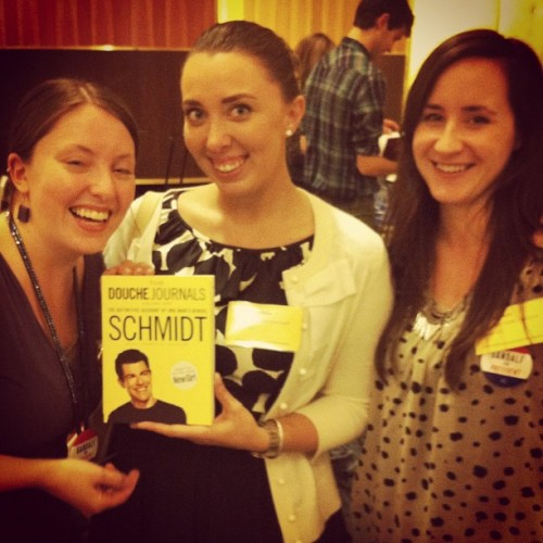 SCHMIDT!!!! #newgirl #NEIBA  (Taken with Instagram)