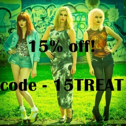 enter code 15TREAT at the checkout for 15% off! -www.konstantine.me.uk