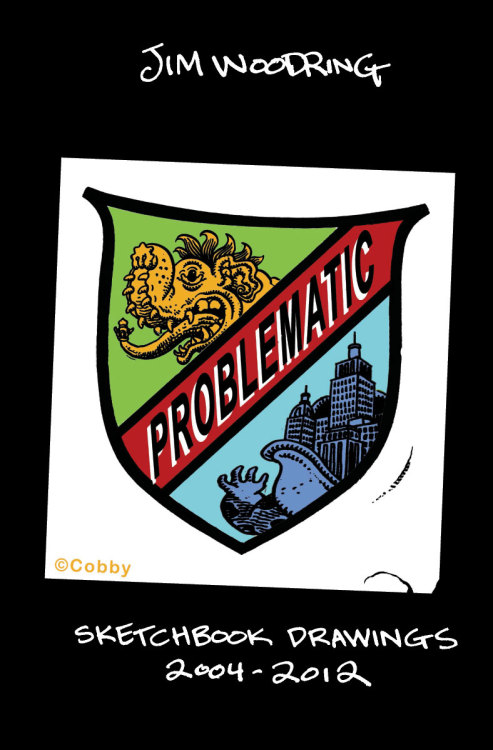 Problematic: Sketchbook Drawings 2004-2012 by Jim Woodring — a massive survey of the heretofore-private sketchbooks of one of comics' greatest visionaries and visual stylists! Sample 20+ pages for free! Out in December!