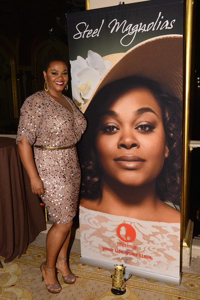 Jill Scott at the premiere of Lifetime's Steel Magnolias.