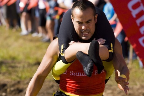 photo: Welcome to the North American Wife-Carrying Championships!