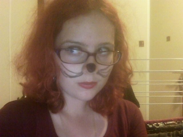 i am going to an animal party tonight and i am not creative. so this is what the world gets.