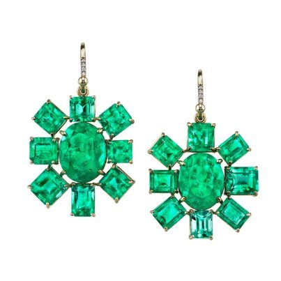 Stunning ear Candy from Irene Neuwirth jewelry.