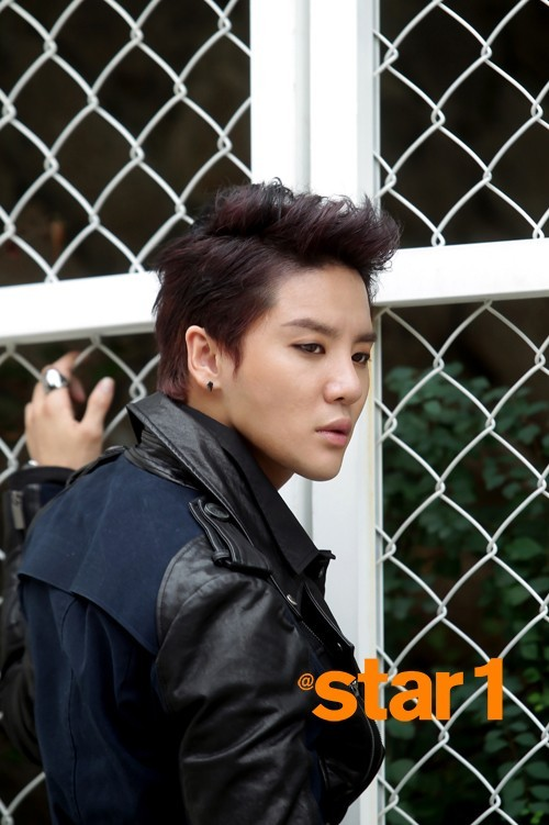 XIA Junsu @Star1 Magazine Photo Shoot 2