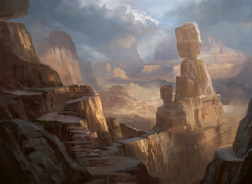 Mountain | Art by Cliff Childs
