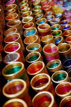 arabiyan:  Colorful Indian Bangles (by ibah~)