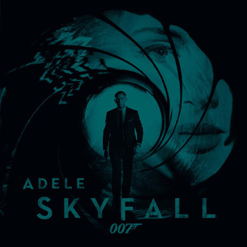 "Listen to Adele's James Bond theme ""Skyfall"" before it's scheduled debut tonight!"