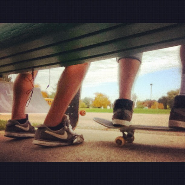 Skateboard life. #relaxing#friends#skateboarding (Taken with Instagram)