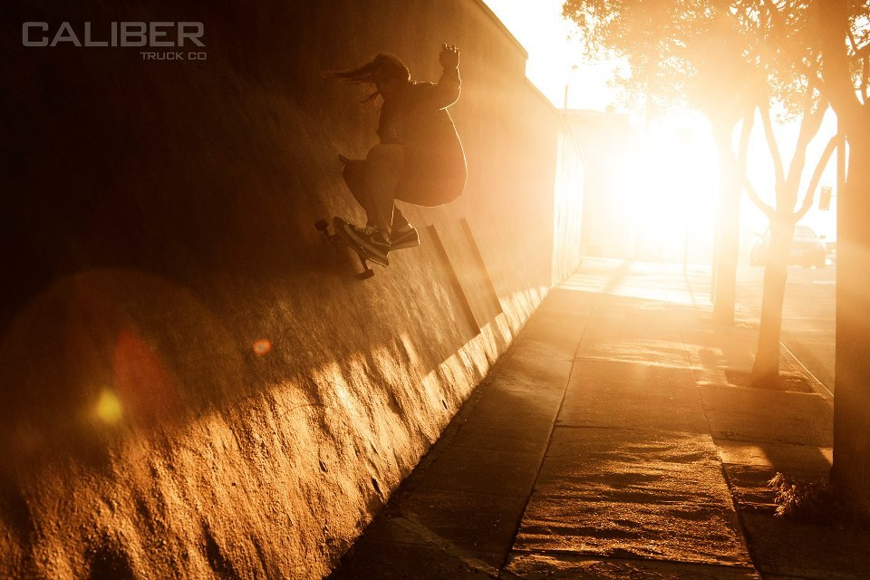 Caliber Team Manager Big Dave Tannaci with a big wall ride! Rider: Dave Tannaci Photo: Dustin Damron
