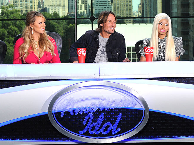 """""""I was the UN.""""  - Keith Urban, joking about how he stayed neutral during the heated exchange between fellow American Idol judges Nicki Minaj and Mariah Carey, to Extra"""
