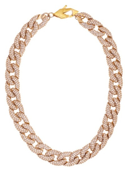glamour:  A gorgeous, keep-forever necklace from Rebecca Minkoff's new jewelry line.