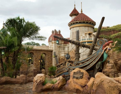 parkhopper:  andy8b:  The entrance of The Little Mermaid ride in Orlando. Opening in December. Real life Eric's Castle!! I think it looks way better than the one in California, but OH WELL. Looks beautiful I want to marry it. 0_0  Oh… my… god. I'm gonna cry.