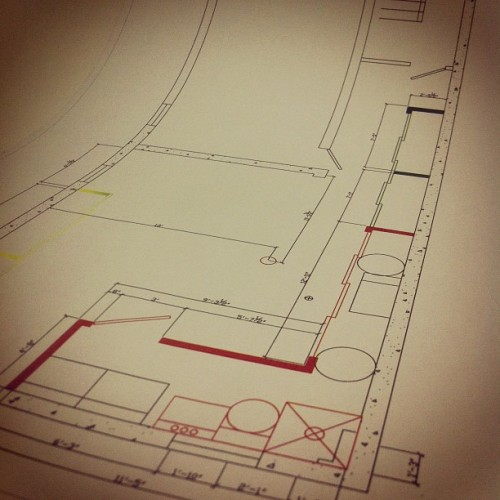 Terminer le plan. Attendre les soumissions #duccnguyen #interior #design (Taken with Instagram at Studio DUC C. NGUYÊN)