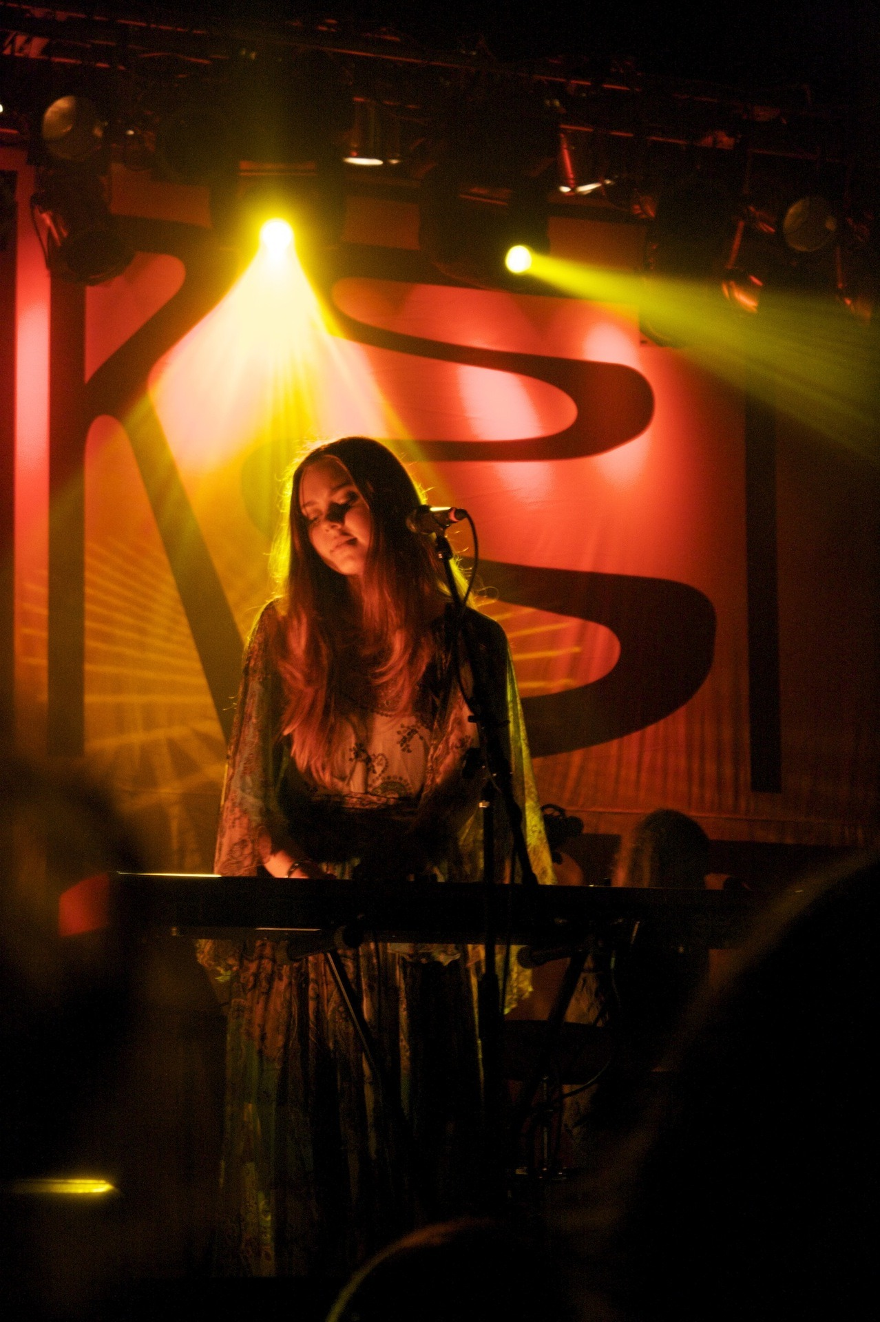 The Swedish folk duo First Aid Kit played at the Orange Peel Oct. 3. First Aid Kit, which is made up of sisters Klara and Johanna, flung their long hair in every direction Wednesday night as they sang harmonies while playing guitar and keyboard. For their song Ghost Town, the sisters chose to perform without microphones, and asked the crowd to sing along. To listen to their new CD, the Lion's Roar, which they released earlier this year, visit their website. - Micah Wilkins