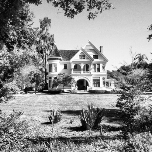 Patterson House #photography #black & white #historic buildings   (Taken with Instagram at Ardenwood Historic Farm, Fremont, Ca)