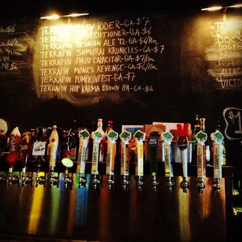 thenewreporter:  Taken with Instagram at Barcade  Beauteous!