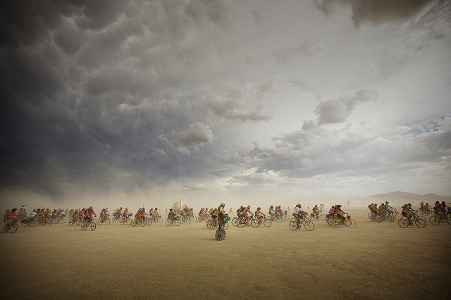 windlines:  Burning Man by Bill Hornstein on Flickr.