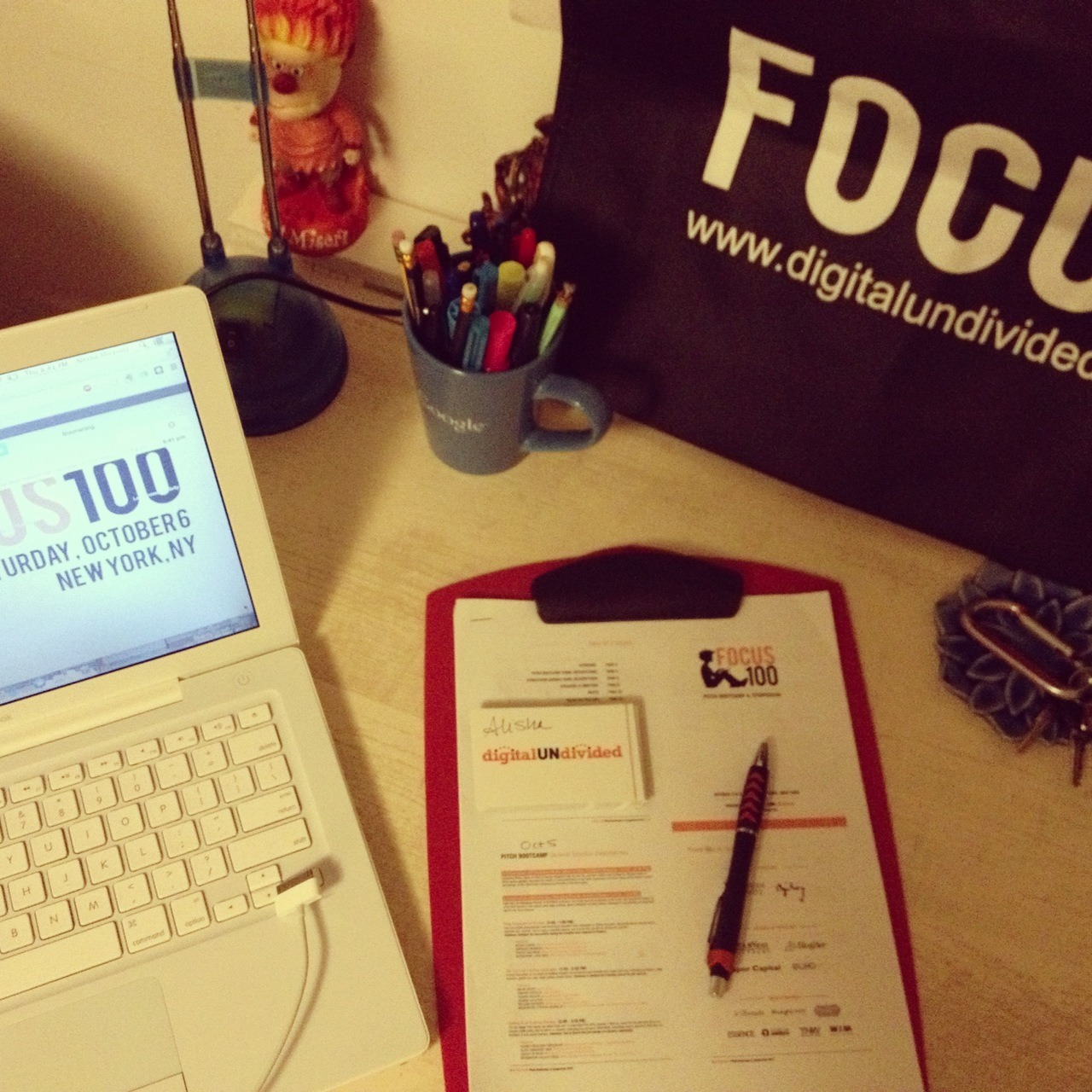 #FOCUS100 is tomorrow!  We're excited! We're pumped! We're dedicated! The #FOCUS100 symposium is where tech startups led by black women can connect with industry innovators, brand managers, and digital influencers. The event consists of a half-day pitch bootcamp, followed by a full-day symposium featuring panels, valuable mentorship sessions and a pitch competition with top angel investors and VCs. #FOCUS100 is October 5-6th in New York City.  Conference Prep: Bring your laptop/iPad/smartphone and chargers. There will be power strips! Bring a copy of your pitch deck for print and electronic. Come prepared with questions for your mentors and an open mind to receive constructive feedback. Eat And Meet: Join me at the closing cocktail reception on Saturday evening, sponsored by BlogHer and Ogilvy. Ask Mayor Cory Booker A Question! We're working with Waywire to solicit questions for Mayor Cory Booker from #FOCUS100 attendees. Just download the app, or go the site and upload your video and tag it #FOCUS100. Be Social Check in to #FOCUS100 on Foursquare. We created a Foursquare venue for #FOCUS100.  Our official hashtag is #FOCUS100. Follow us on Twitter and Facebook, and tag photos on Instagram when you arrive on Friday and Saturday.