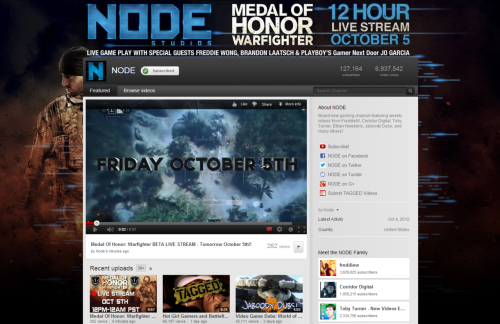 So This 12 hour Live stream of Medal of Honor: Warfighter happening on our channel OCTOBER 5th! SUBSCRIBE and Keep updated HERE!!!