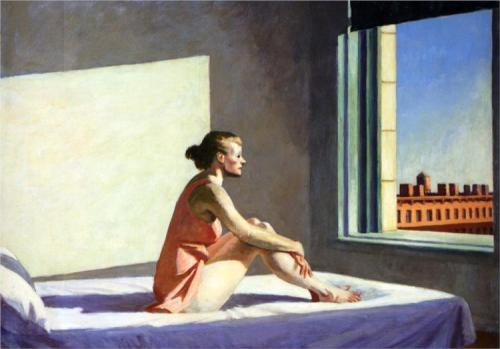 Edward Hopper, Morning Sun, 1952.