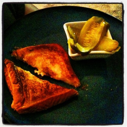 Nana's grilled cheese!!! (Taken with Instagram)