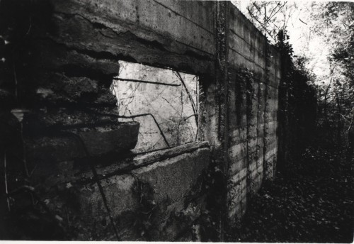 Wall, Dachau Concentration Camp, Germany.