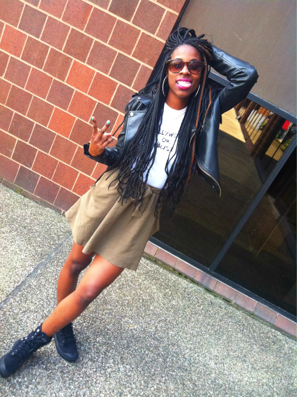flyestfemales Frenchii : Earlier … (Taken with Instragram) http://frenchswagg.tumblr.com