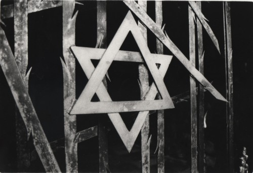 Star of David, Dachau Concentration Camp, Germany.