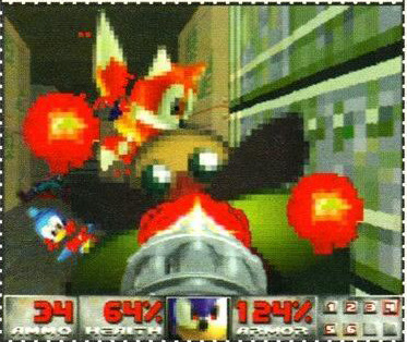 (Sega Saturn Magazine #18, April 1997) There were Sonic Doom WADs, but none looked like this from what I can tell.