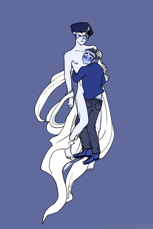 invisiblesarcasm:  30 Day OTP challenge - Day 5. Kissing embracing I didn't feel like making a kissing scene; specially since at the end of this, you'll all be rewarded porn so NO KISSING THIS EARLY. Instead, have something inspired by this song here. Paula made me addicted to this song sgdf h dgj gfdkj—
