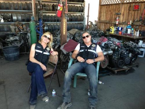 """#CSI #georgeeads #lisashue"" @waldeckvision George cut his hair again, but it was time… Poor thing, posing ta bad boy!"