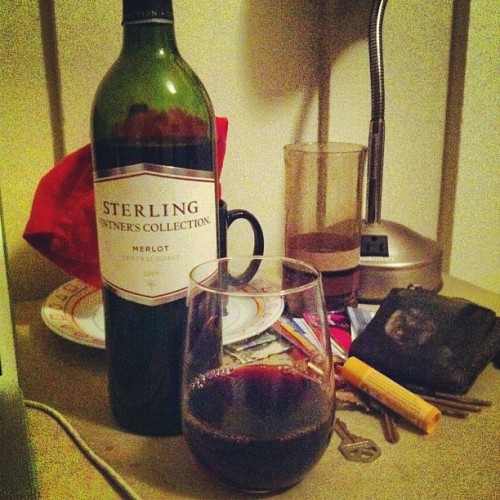 who's up for some drunk blogging tonight? (Taken with Instagram)