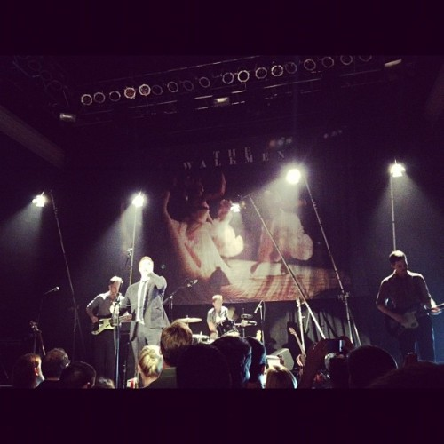Enjoying a show by the awesome #walkmen with @arelita11 ;) (Taken with Instagram)