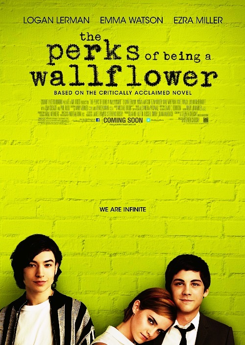 I went to see a screening of 'The Perks of Being a Wallflower' the other night. It was a beautiful, beautiful movie. It was honest and touching, while still being genuinely funny. I'm not sure what I expected, having not read the book first (something I regret), but I left feeling moved — as if any of the characters' stories could be mine or my friend's stories (and honestly, there were parts that hit way too close to home).  I've read a few reviews that say it's 'The Breakfast Club' of our generation, and while I think the two stand on their own, I understand where the comparisons are drawn from: both are semi-humorous but still gripping looks at the struggles of youth.  I think 'Perks' strength lies in the performances. While Emma Watson's accent was a little off at times (don't shoot me — I still love her and girl is GORGEOUS), Logan Lerman's performance as Charlie was the most moving. I wish we got more insight into the darker side of his issues, as uncomfortable as they made me. Ezra Miller also did an amazing job as Patrick, serving as both the comic relief and the grounding of the film. Again, love it. Don't see it just so you can fan-girl out. It's a legitimately powerful movie that was beautifully made.