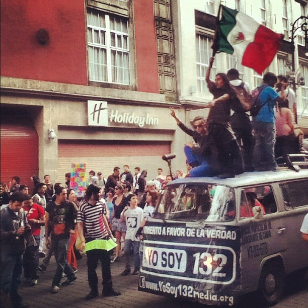 say-miau-with-me:  #YoSoy132 (Tomada con Instagram)