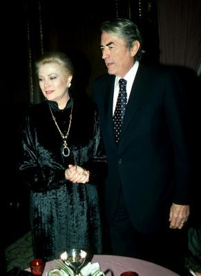 Princess Grace and Gregory Peck