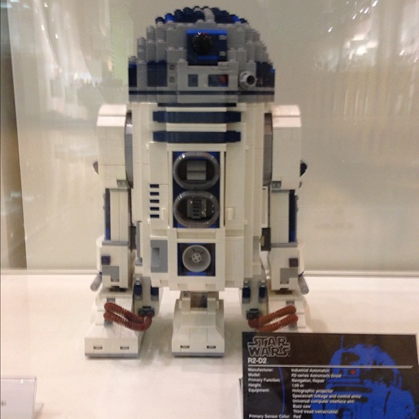 LEGO R2-D2 #StarWars #R2D2 #Movies