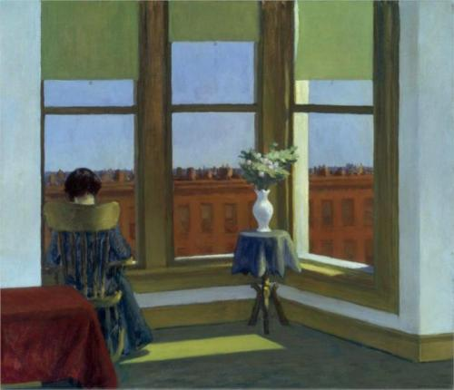 Edward Hopper, Room In Brooklyn, 1932.