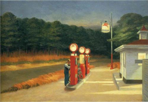 Edward Hopper, Gas, 1940.